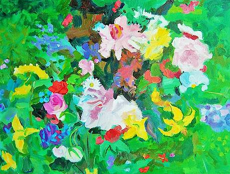 Lotsa Green by Aletha Kuschan
