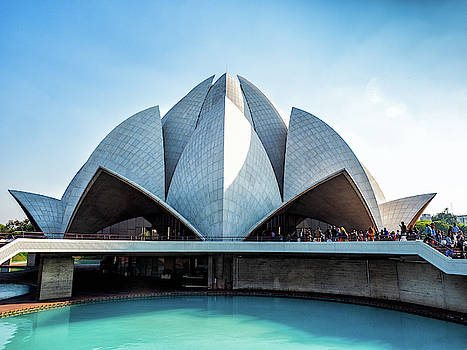 Lotus Temple by Robin Zygelman