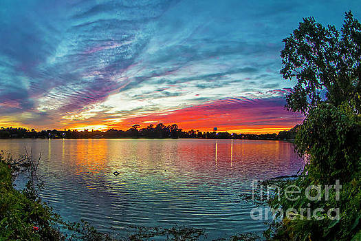 Spade Photo - Louisiana Sunset