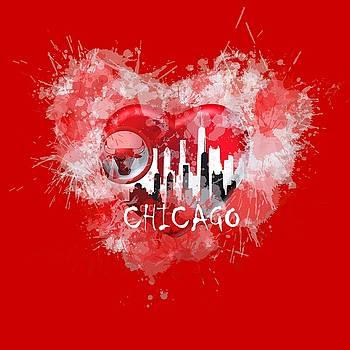 Love Chicago colors by Alberto RuiZ