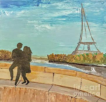 Love in Paris by Escudra Art