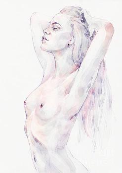 Dimitar Hristov - Lovely classical pose girl portrait