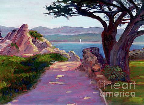 Lovers Point, Pacific Grove by Rhett Regina Owings