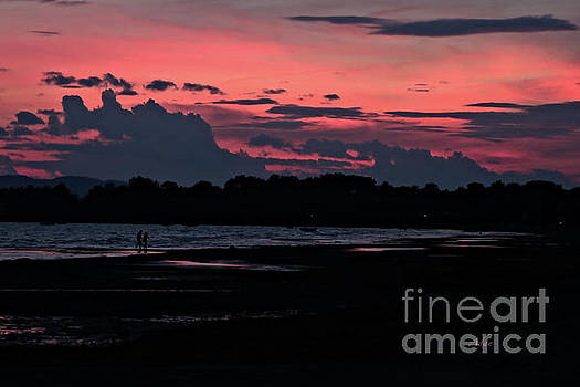 Felipe Adan Lerma - Lovers Stroll at Sunset Leddy Park Vermont