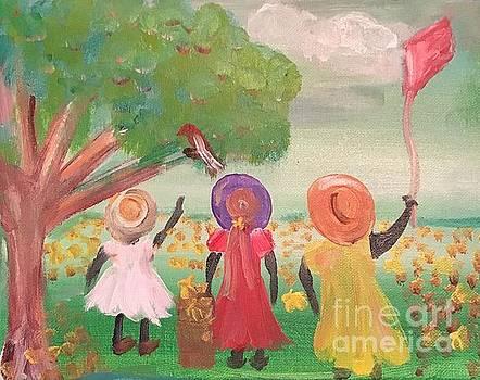 Lovey Day Daisy Girls by Lisa Gilyard