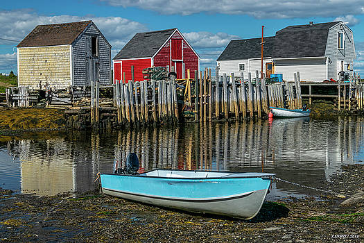 Low Tide at Blue Rocks 02 by Ken Morris