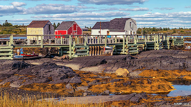 Low Tide at Blue Rocks 05 by Ken Morris