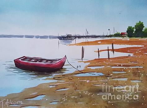 Low tide by Therese Alcorn