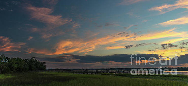 Lowcountry Magic - Sunset by Dale Powell
