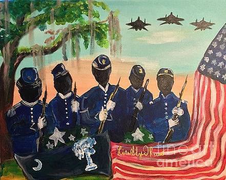 LowCountry Military Soldiers  by Lisa Gilyard