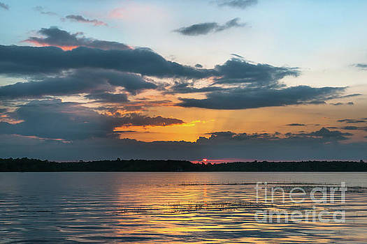 Lowcountry Southern Exposure - Wando River Sunset by Dale Powell