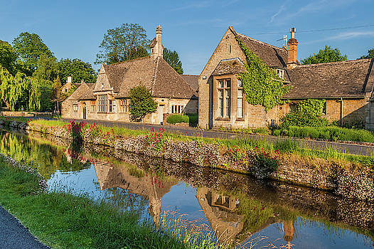 David Ross - Lower Slaughter and the River Eye