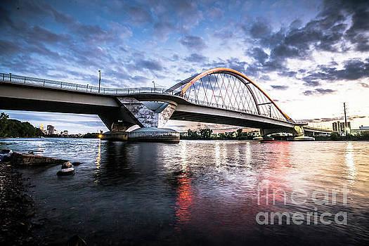 Lowry Ave Bridge Sunset by Habashy Photography