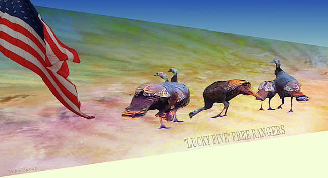 Mike Breau - Lucky Five- Free rangers