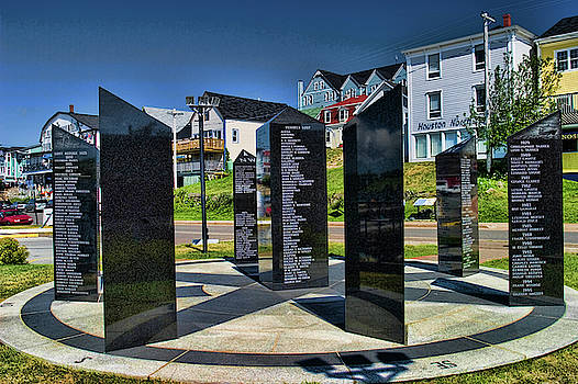 Lunenburg Fisherman Memorial by David Smith