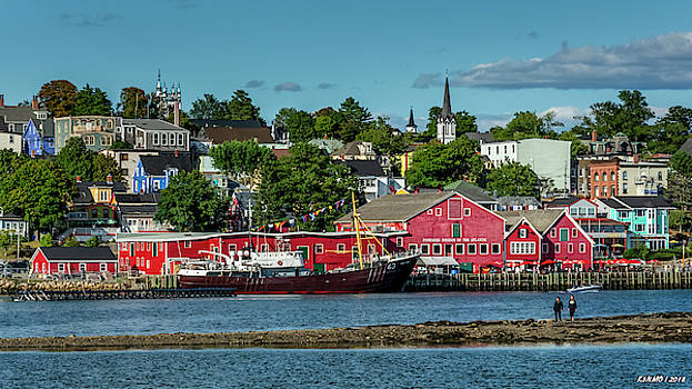 Lunenburg, Nova Scotia by Ken Morris