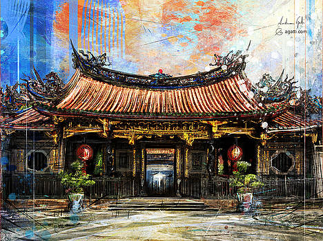 Lungshan Temple of Manka by Andrea Gatti