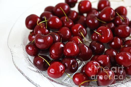 Lush Red Summer Cherries by Joy Watson