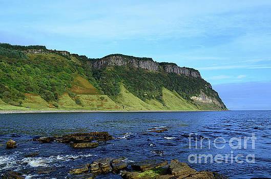 Lush Sea Cliffs at Bearreraig Bay by DejaVu Designs