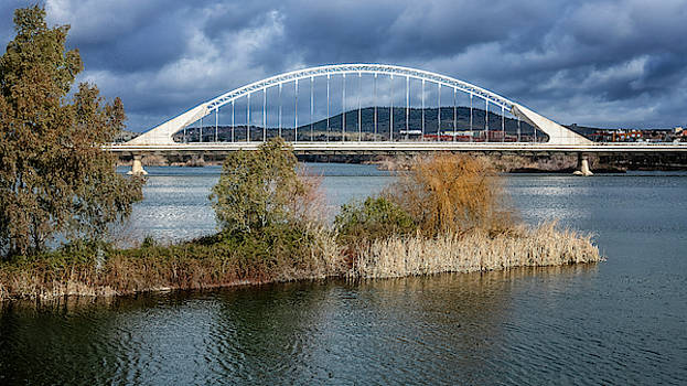 Lusitania Bridge Merida Spain by Joan Carroll