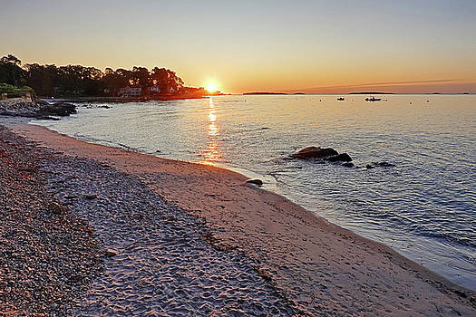 Toby McGuire - Lynch Park Beach at Sunrise Beverly MA