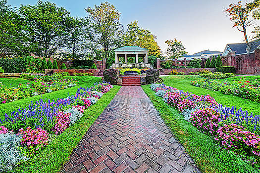 Toby McGuire - Lynch Park Flower Lined Pathway Beverly MA