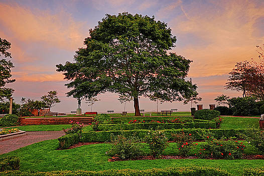 Toby McGuire - Lynch Park Sunset Beverly MA Garden and Tree