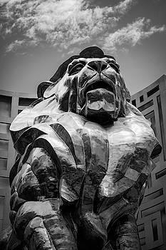 M G M Grand Hotel Lion - Las Vegas by Daniel Hagerman