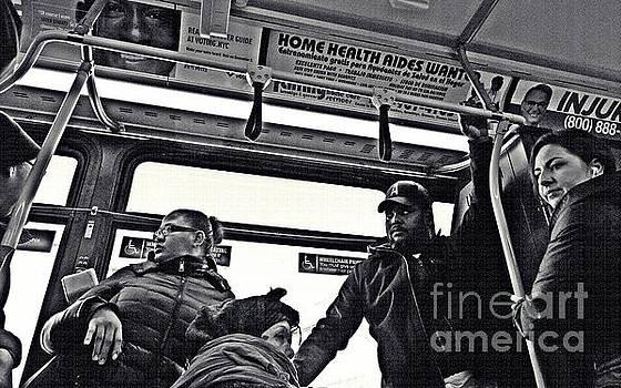 M4 Bus NYC 2 by Sarah Loft