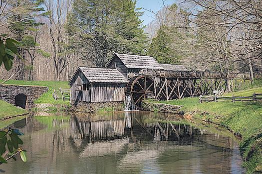 Mabry Mill  by Cindy Lark Hartman