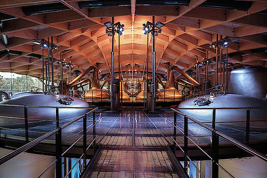 Macallan Distillery by Dave Bowman
