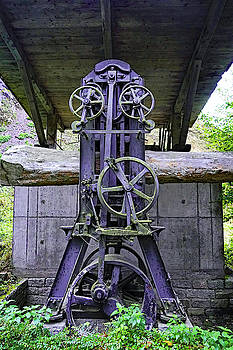 Machinery Found In The Black Forest Area Of Germany by Richard Rosenshein