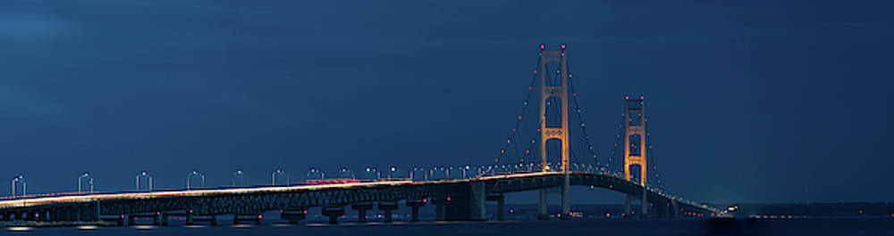 Mackinac Bridge In 270 Seconds by Steve Gadomski