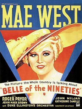 Daniel Hagerman - MAE WEST - BELLE of the NINETIES MOVIE LOBBY PROMO 1934