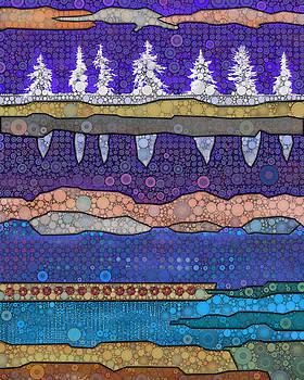 Magenta Winter by Daniel McPheeters