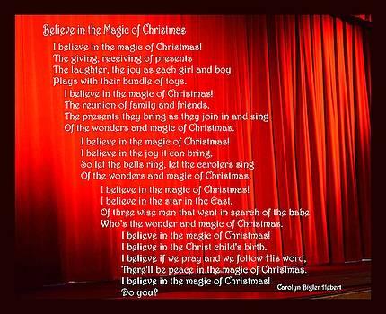 Magic of Christmas by Carolyn Hebert