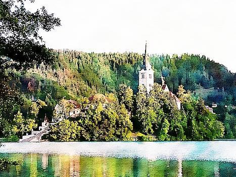 Magical Lake Bled by Joseph Hendrix