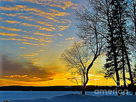 Magical sunset by Brenda Ketch
