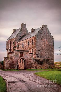 Magnificent Midhope Castle by Elizabeth Dow