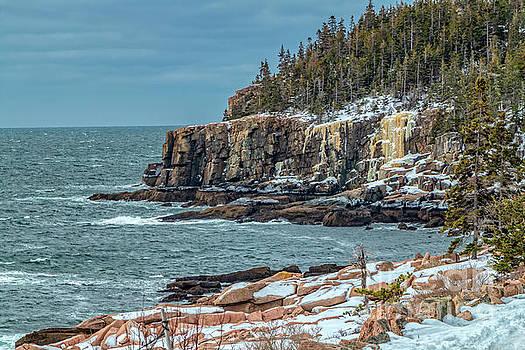 Magnificent Otter Cliffs  by Elizabeth Dow