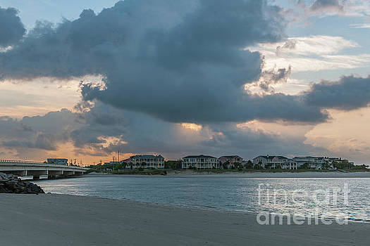 Magnificient Clouds over Breach Inlet by Dale Powell