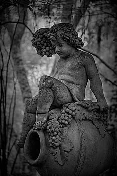 Magnolia Child Statue by Jon Glaser