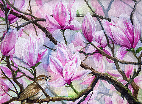 Magnolia Song by Patricia Allingham Carlson