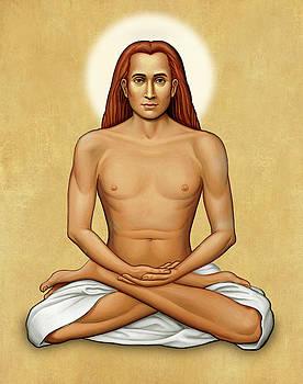 Mahavatar Babaji on Gold by Sacred Visions