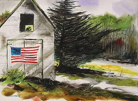Maine Barn by John Williams