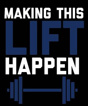 Making This Lift Happen by Sourcing Graphic Design