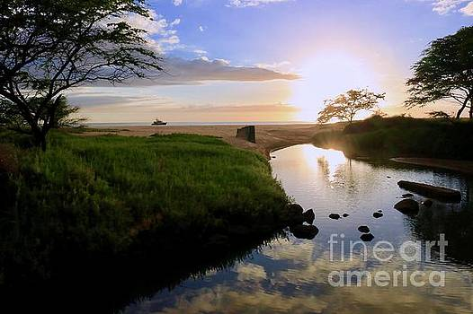Makua Beach at Sunset by Craig Wood