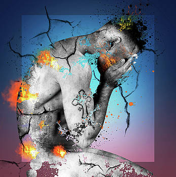 Male Nude 2 by Mark Ashkenazi