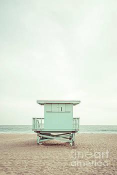 Paul Velgos - Malibu California Zuma Beach Lifeguard Tower #1 Photo