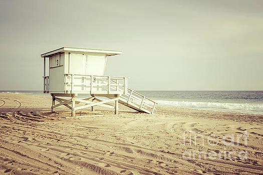 Paul Velgos - Malibu California Zuma Beach Lifeguard Tower #3 Photo